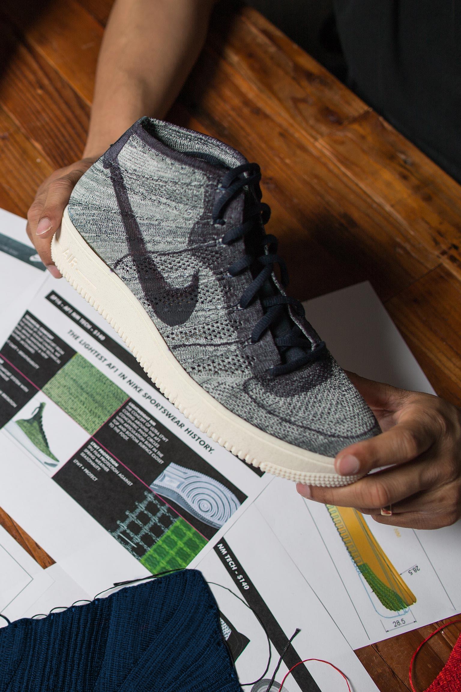 Tajemství designu: Nike Air Force 1 Ultra Flyknit