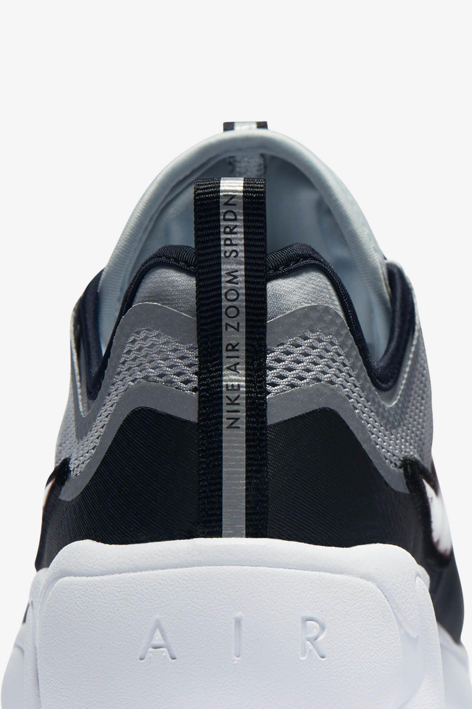 Nike Air Zoom Spiridon 'Metallic Silver & Black'