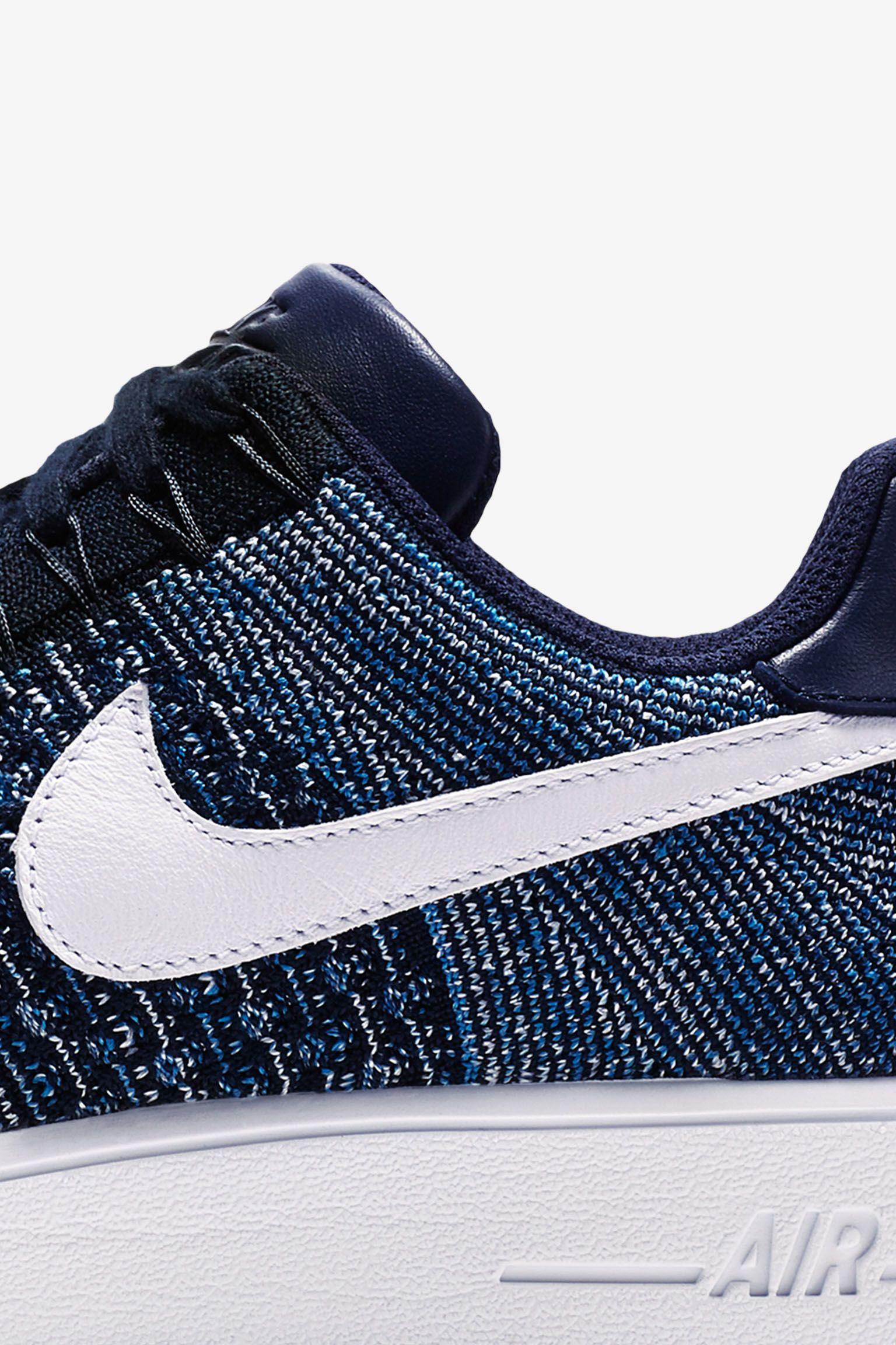 Nike Air Force 1 Ultra Flyknit Low 'Summer Blues' Release Date