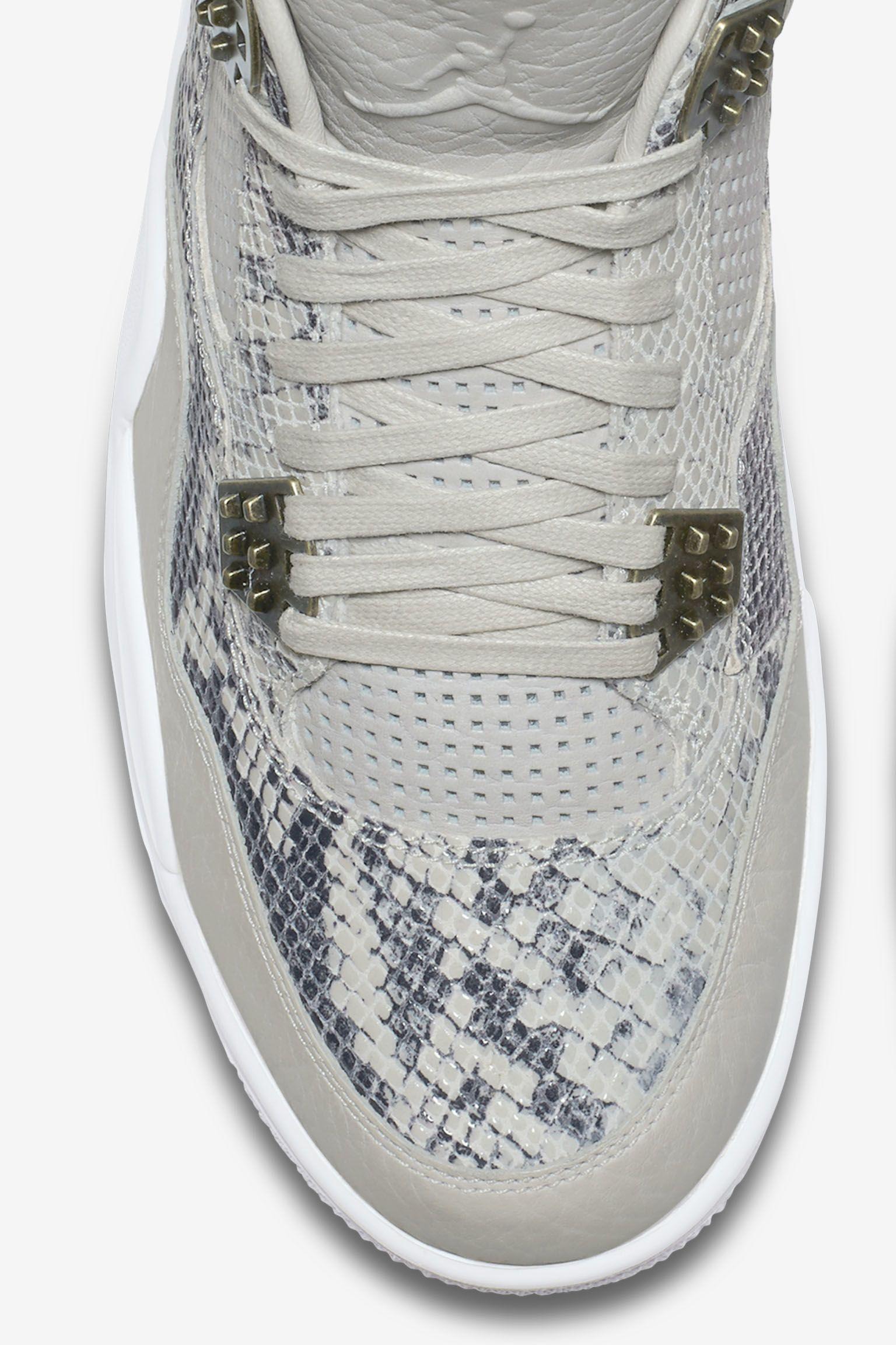Air Jordan 4 Retro 'Snakeskin' Release Date