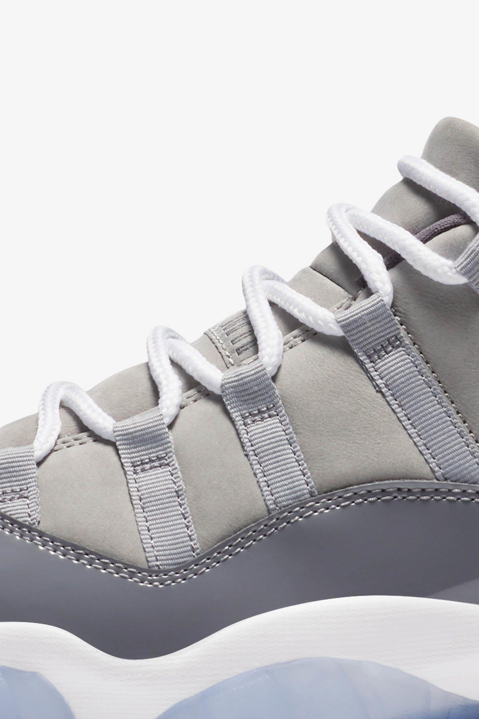 Air Jordan 11 Low 'Cool Grey' Release Date