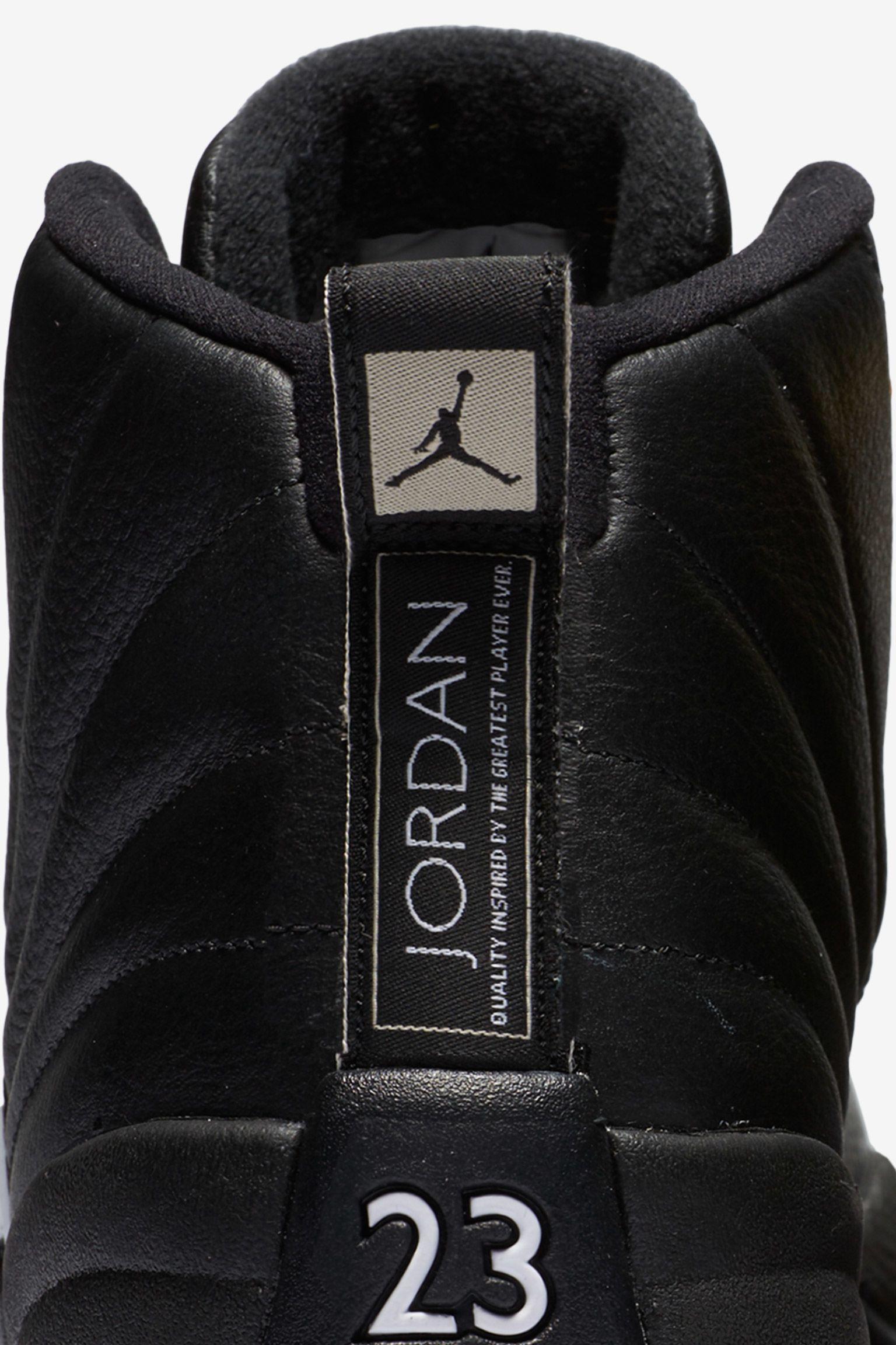 Air Jordan 12 Retro 'The Master' Release Date