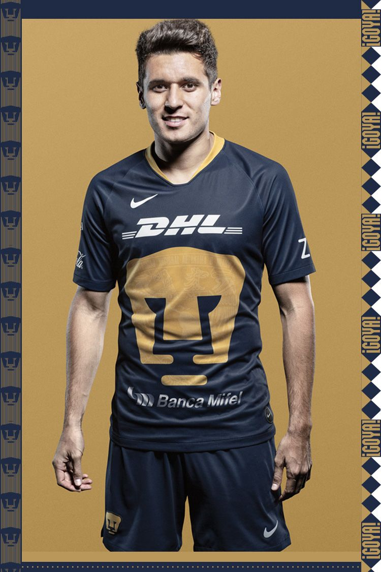 Nike 2019 Pumas UNAM Alternate Kit