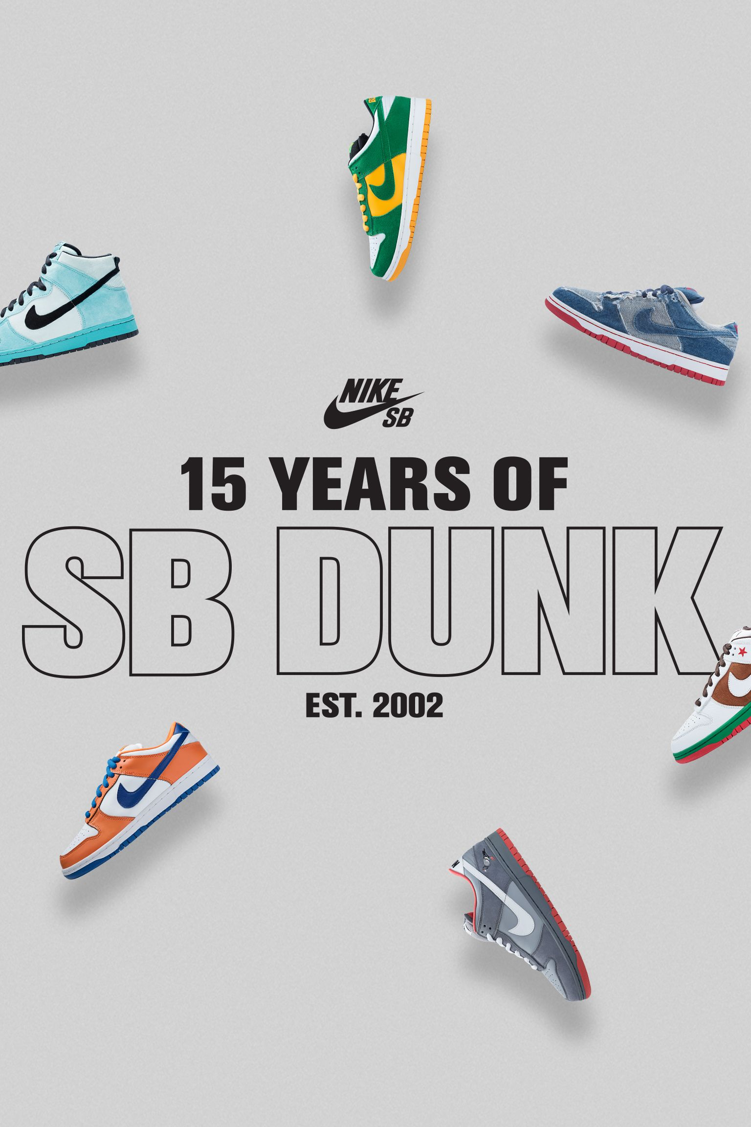 Nike 15 Years of SB Dunk