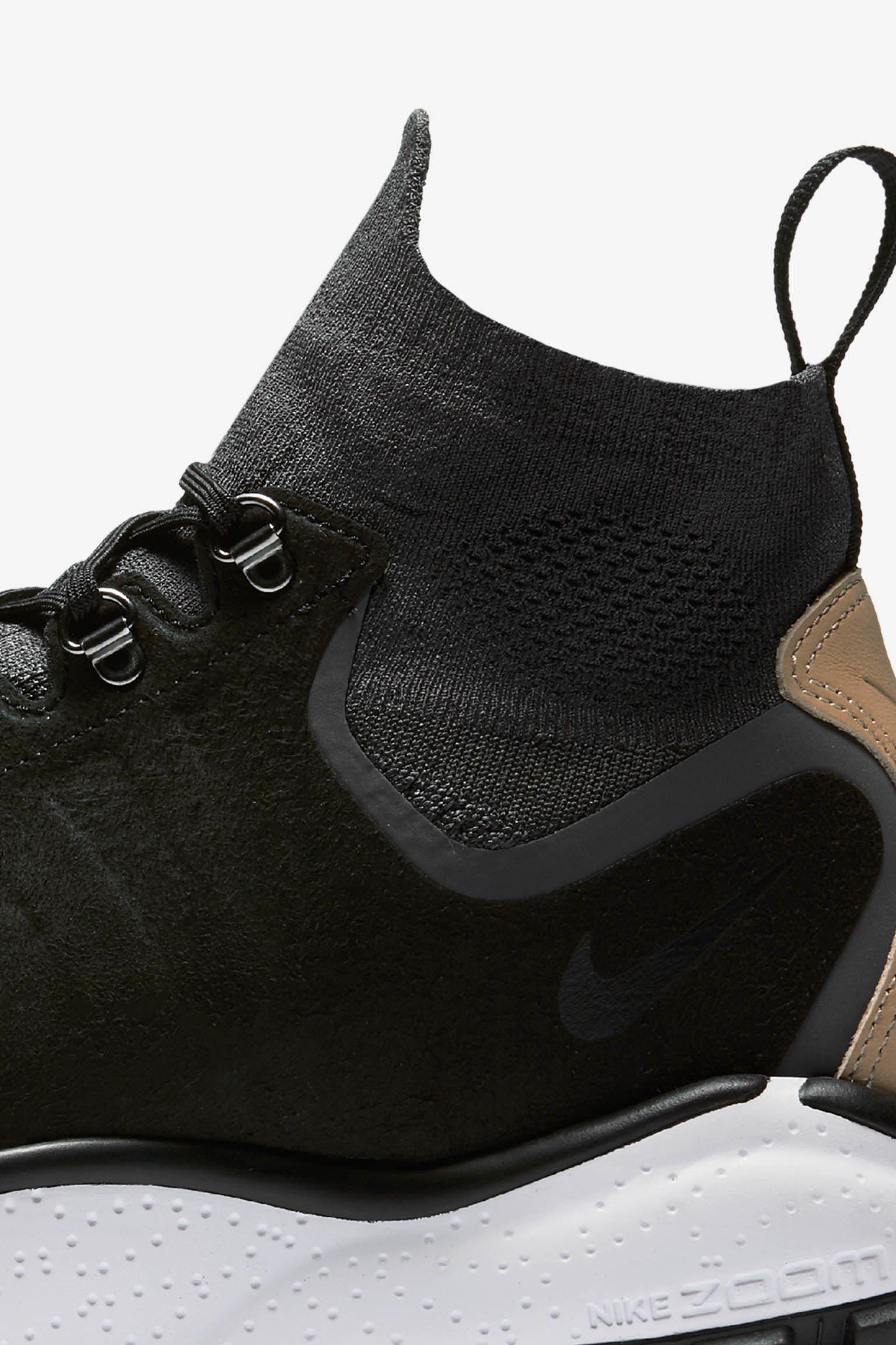 Nike Air Zoom Talaria Mid Flyknit 'Black & Vachetta Tan'