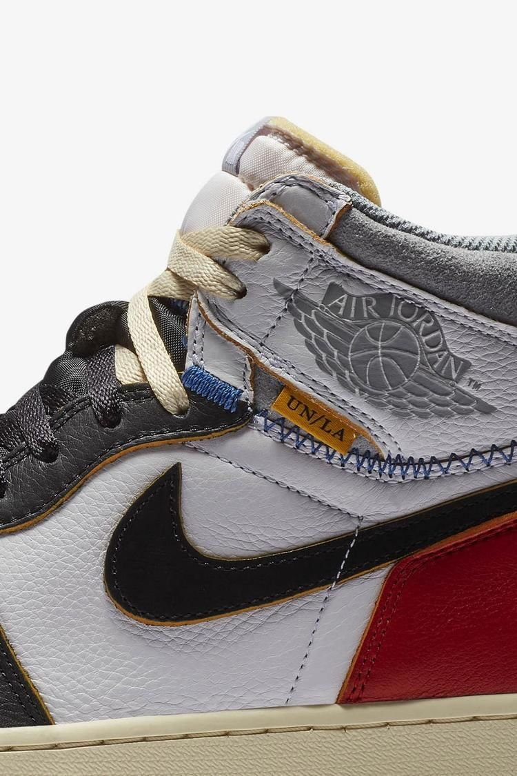 Air Jordan 1 Union Los Angeles 'White & Varsity Red & Black' Release Date