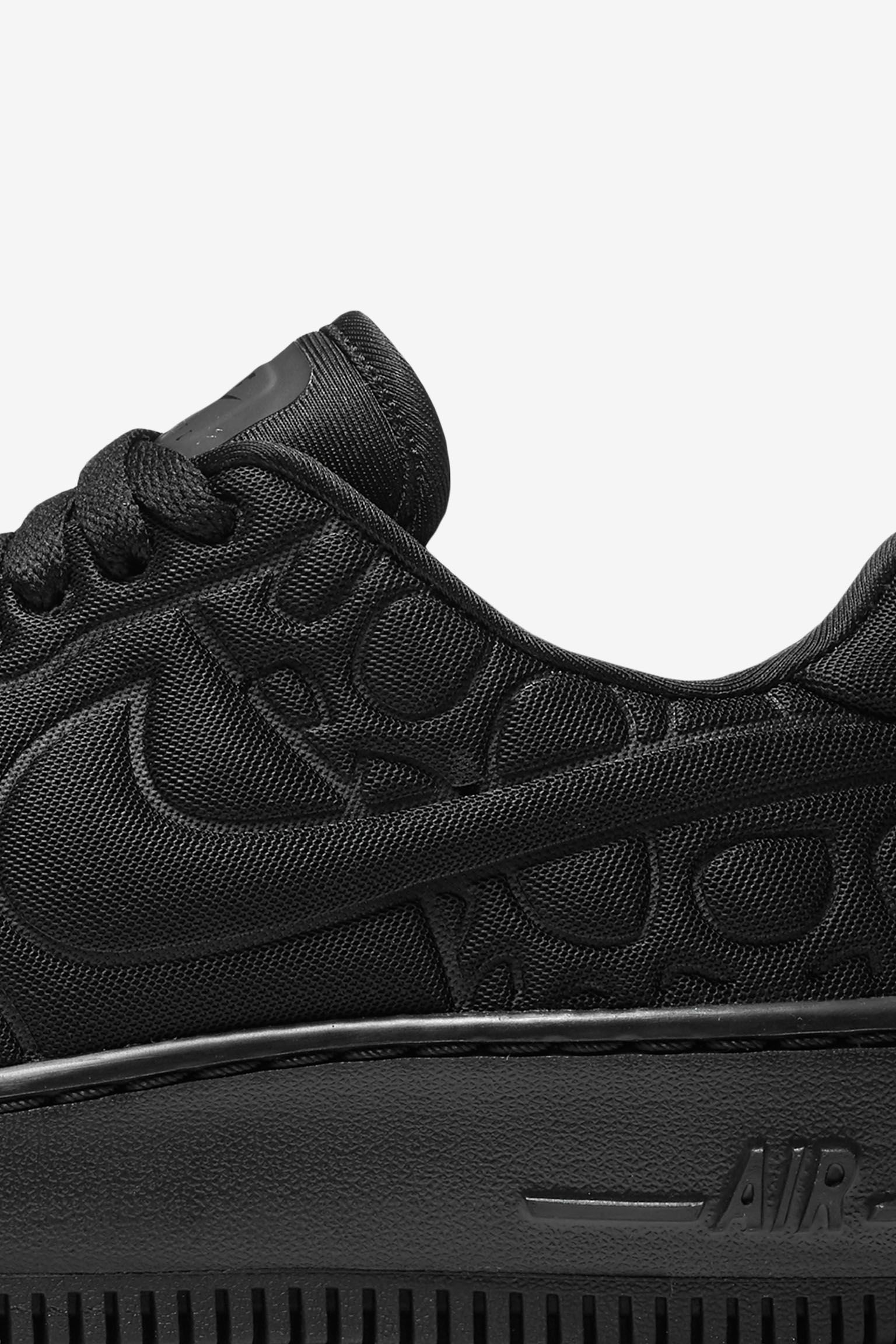Women's Nike Air Force 1 Upstep 'Triple Black'