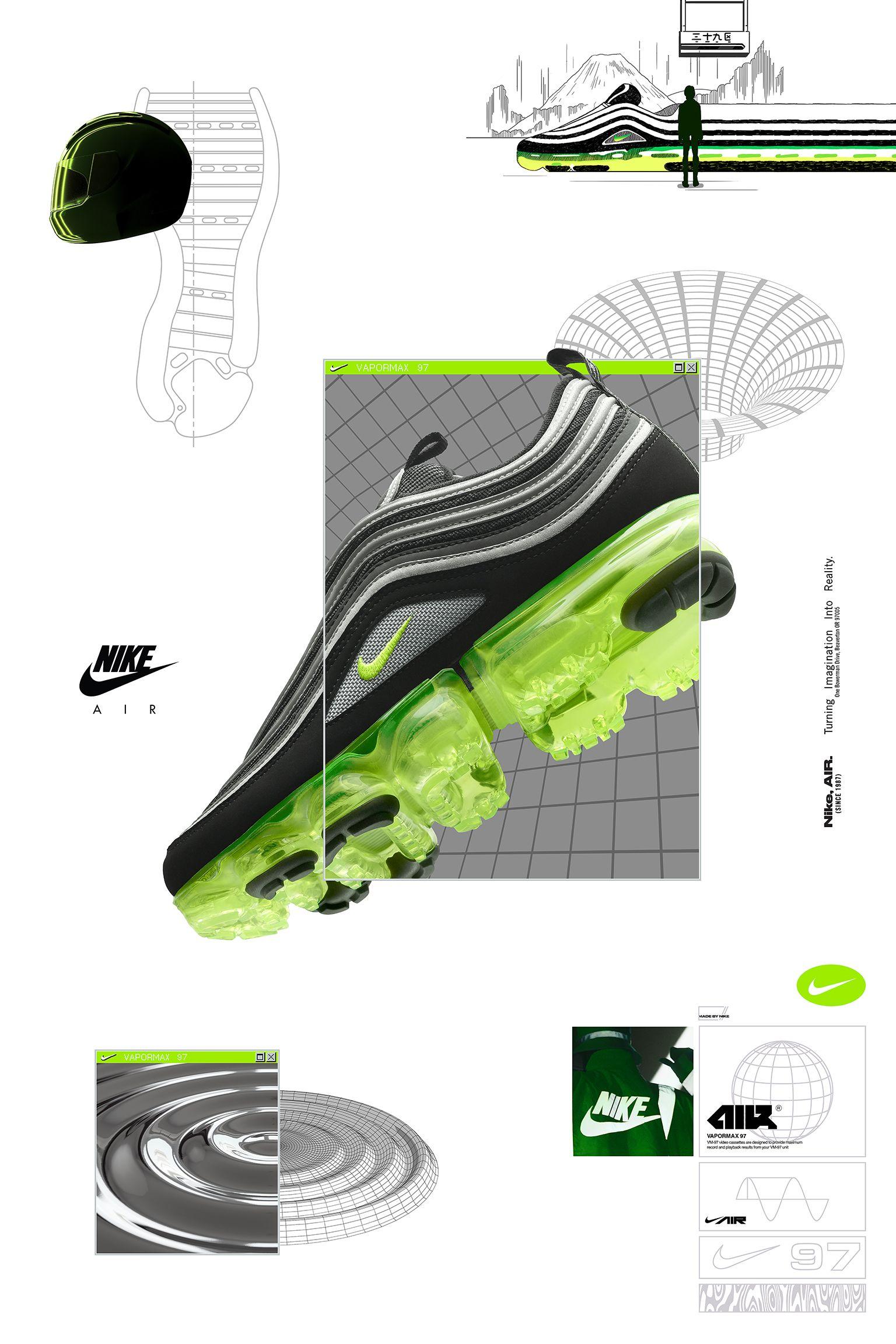 new product 6d9dc 7bb59 Date de sortie de la Nike Air Vapormax 97 « Black & Volt ...