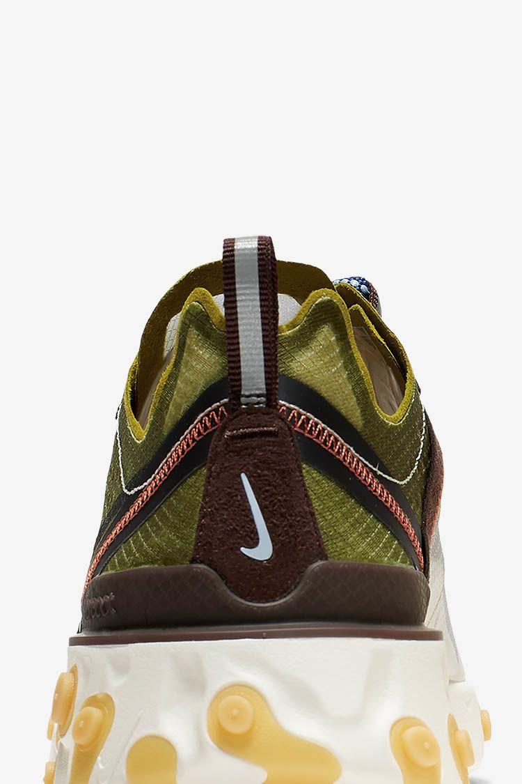 Nike React Element 87 'Moss' Release Date