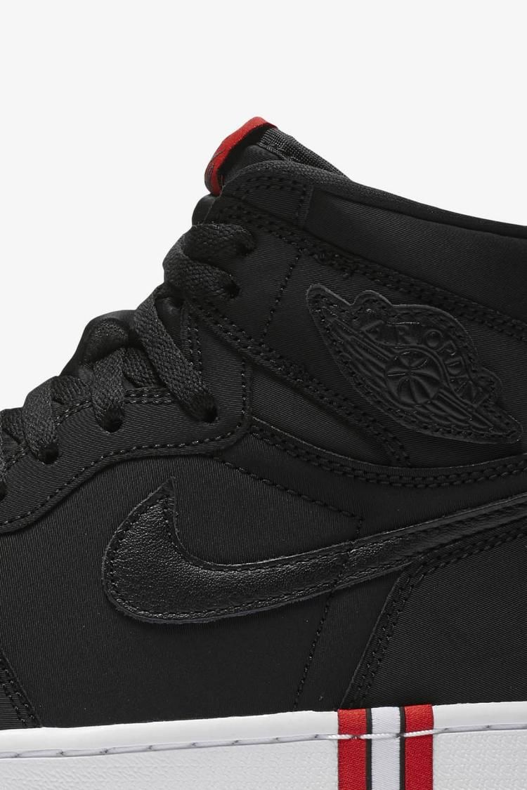 Air Jordan 1 PSG 'Black & Challenge Red' Release Date