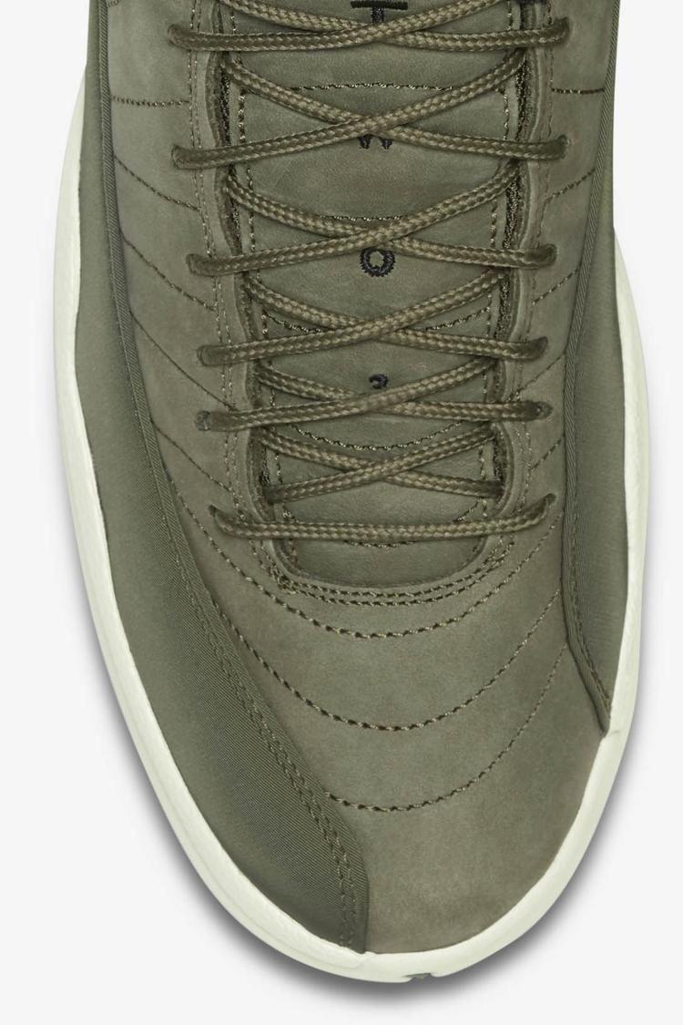 Air Jordan 12 Retro 'Olive Canvas & Metallic Gold' Release Date