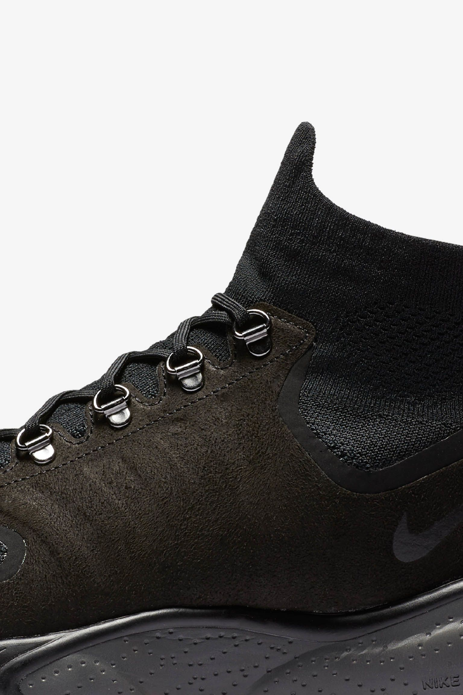 "Nike Air Zoom Talaria Mid Flyknit ""Black & Dark Grey"""