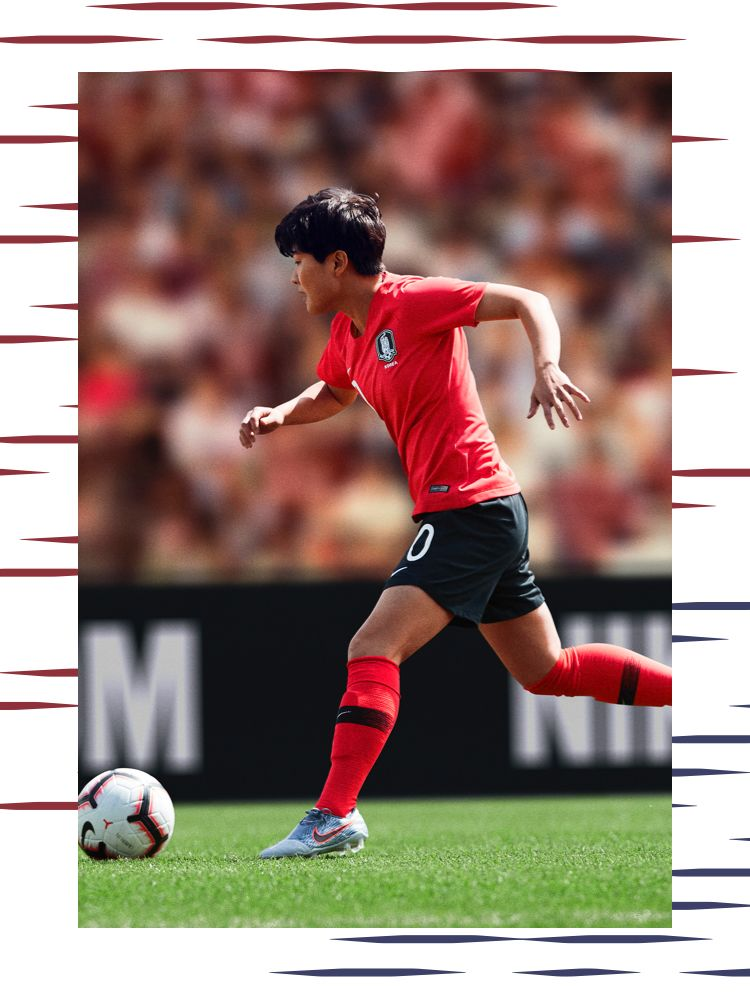 South Korea Women's National Team's Soyun Ji