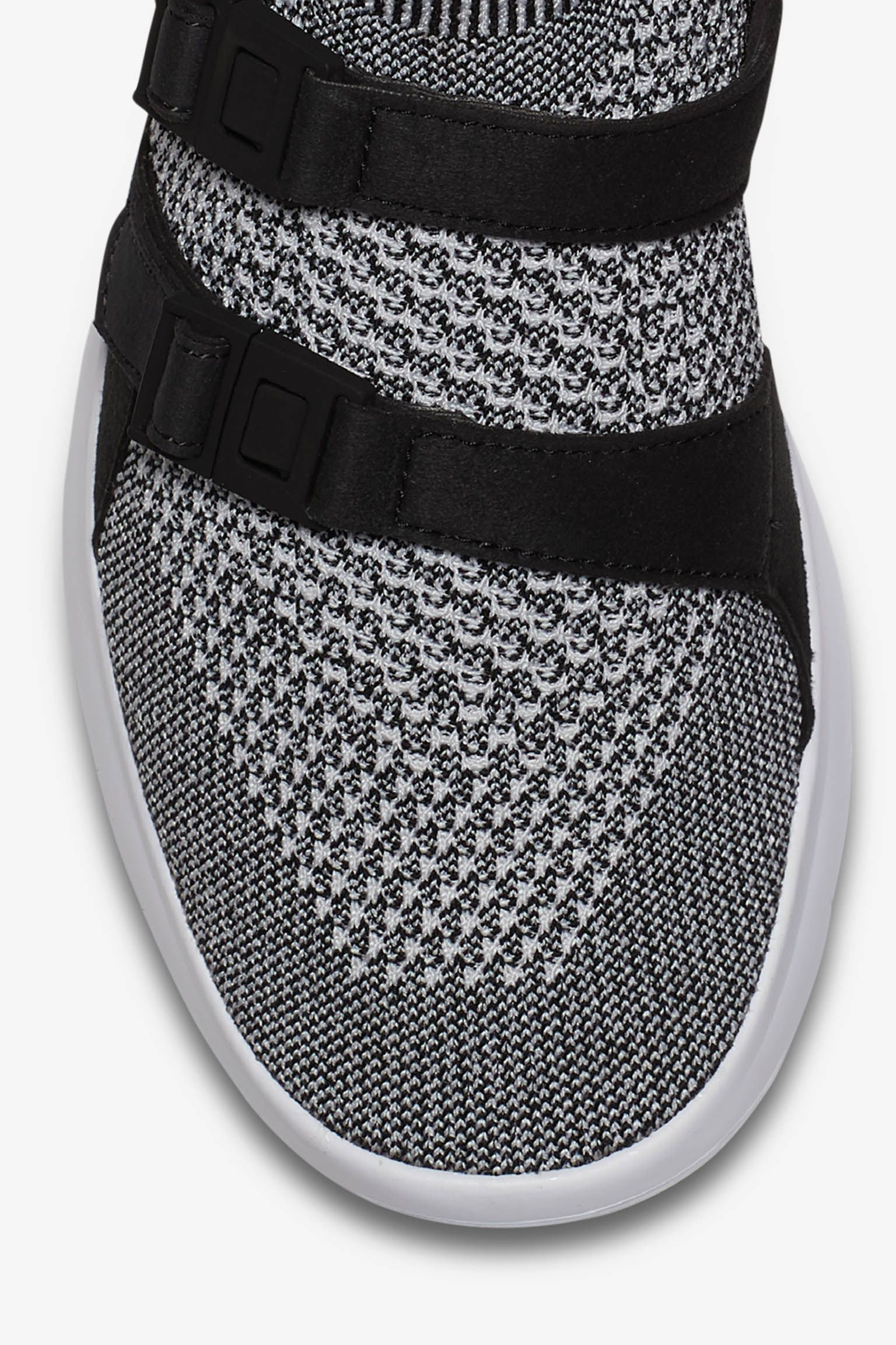 Womens Nike Air Sock Racer Ultra Flyknit Black White Snkrs Wire Harness Socks