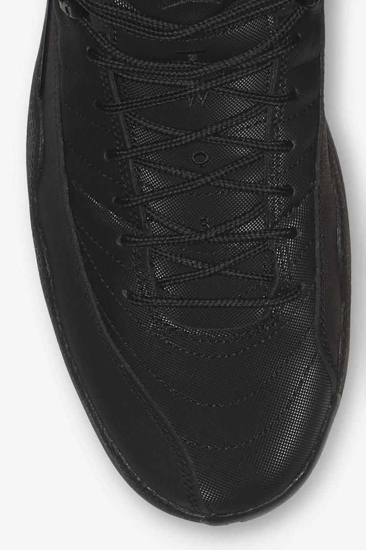 Air Jordan 12 Retro Winter 'Black & Anthracite' Release Date