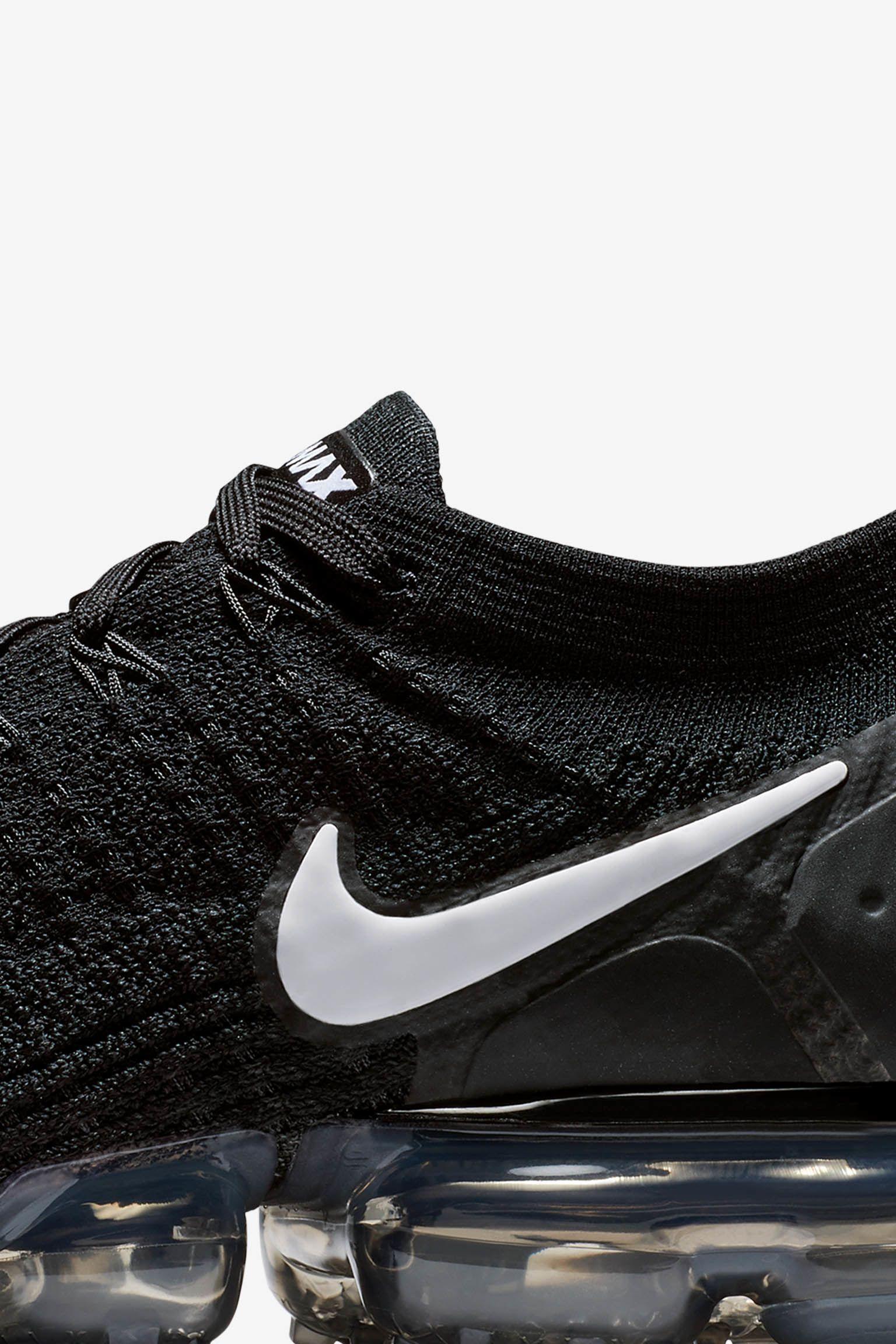 Nike Air Vapormax Flyknit 2 'Black & Dark Grey' Release Date