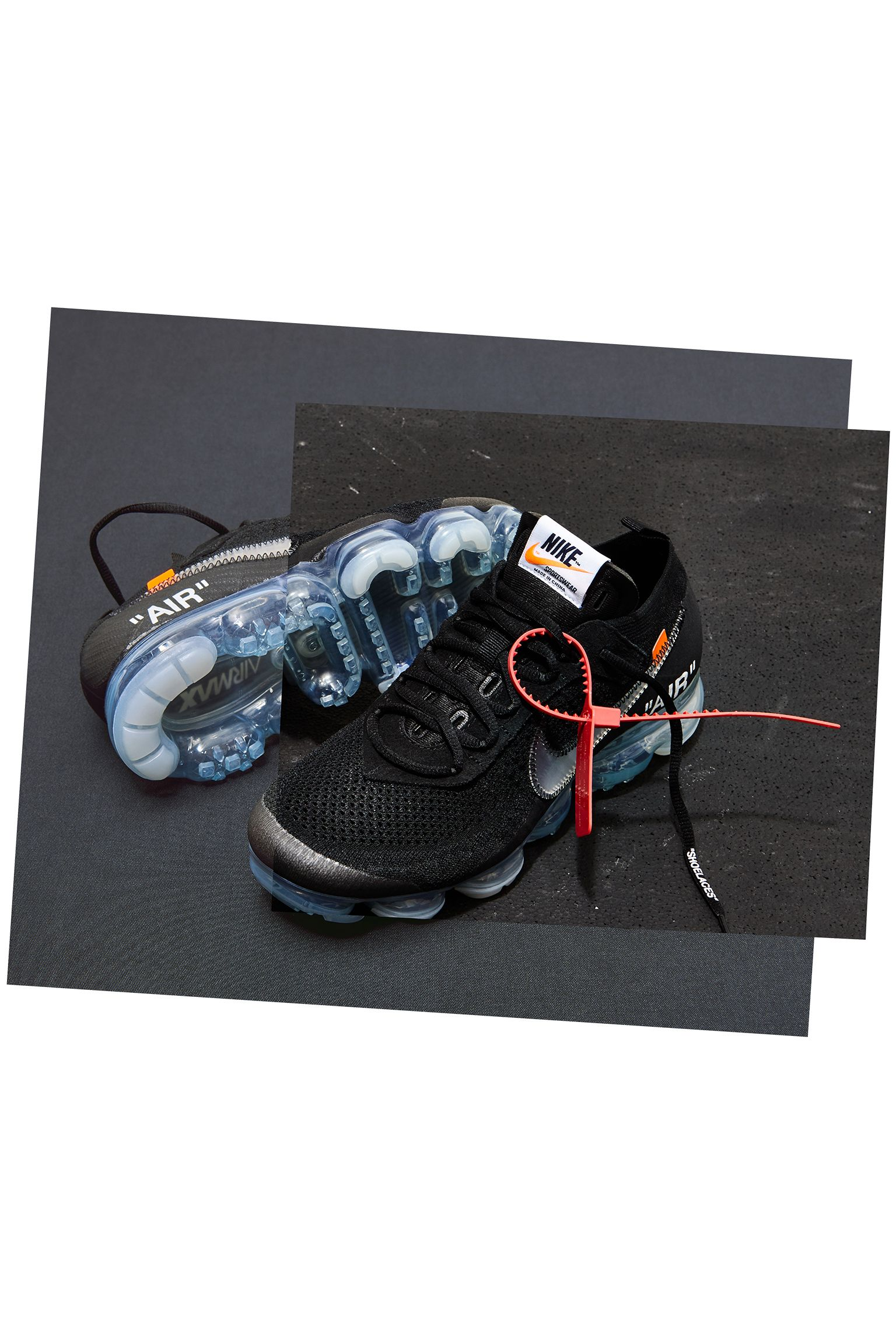981b57125c Nike The Ten Air Vapormax Off-White 'Black' Release Date. Nike+ SNKRS