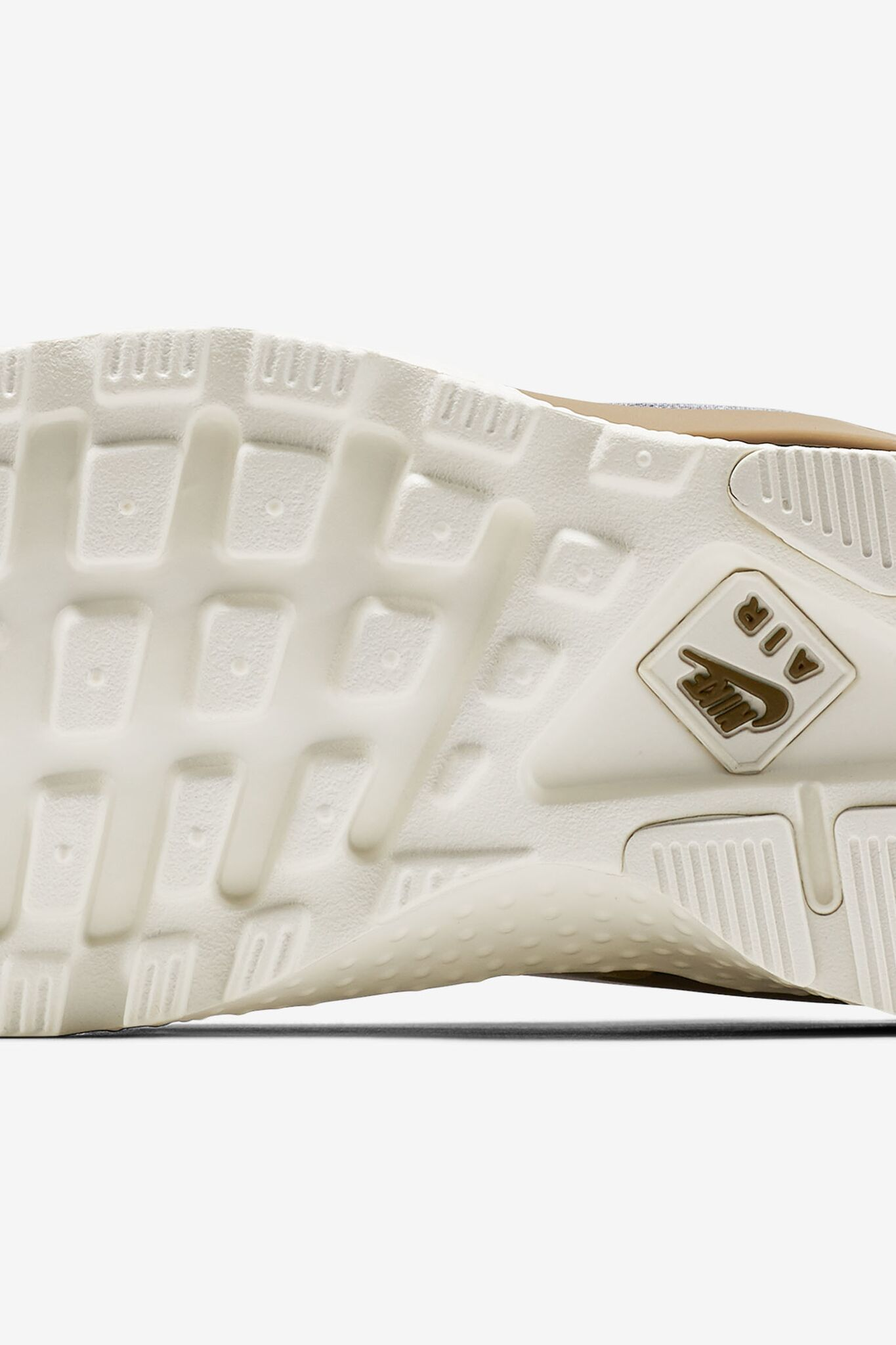 Women's Nike Air Huarache Ultra SE 'Midnight Navy & Golden Beige'.