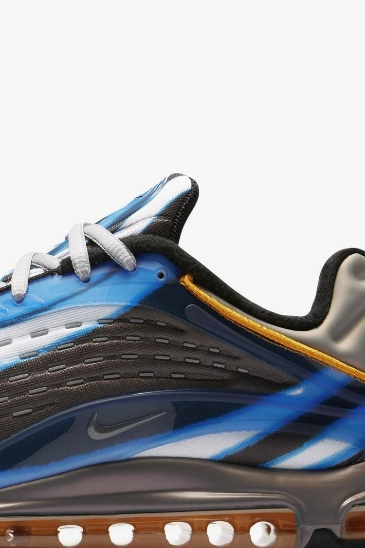 Nike Air Max Deluxe 'Photo Blue & Wolf Grey & Orange Peel' Release Date