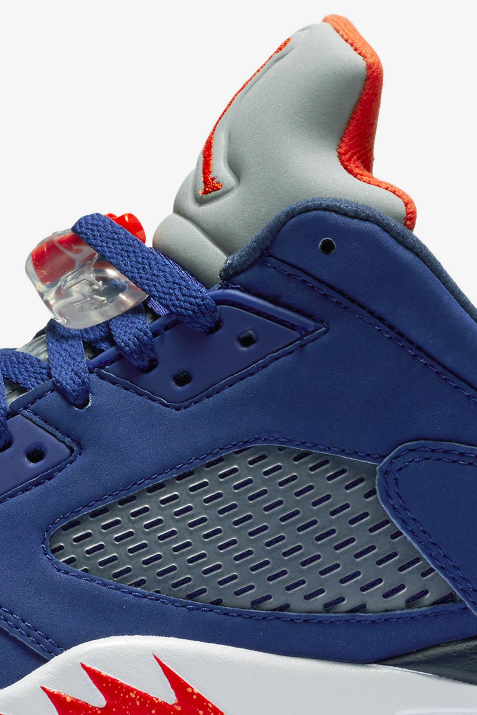 Air Jordan 5 Retro Low 'Royal Blue' Release Date