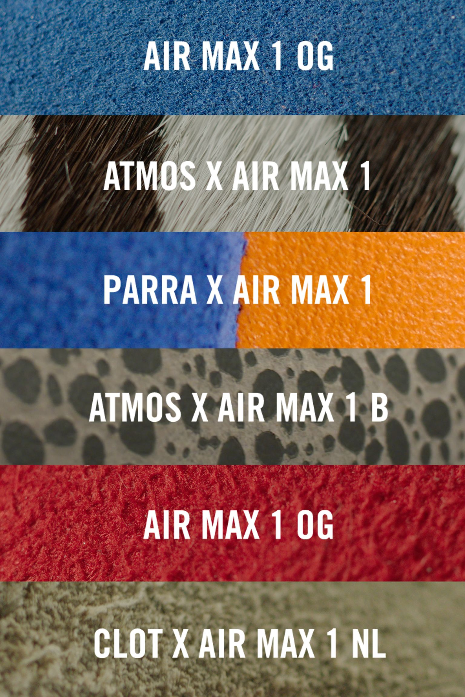 "Dentro la scarpa: Nike Air Max 1 ""Master"""