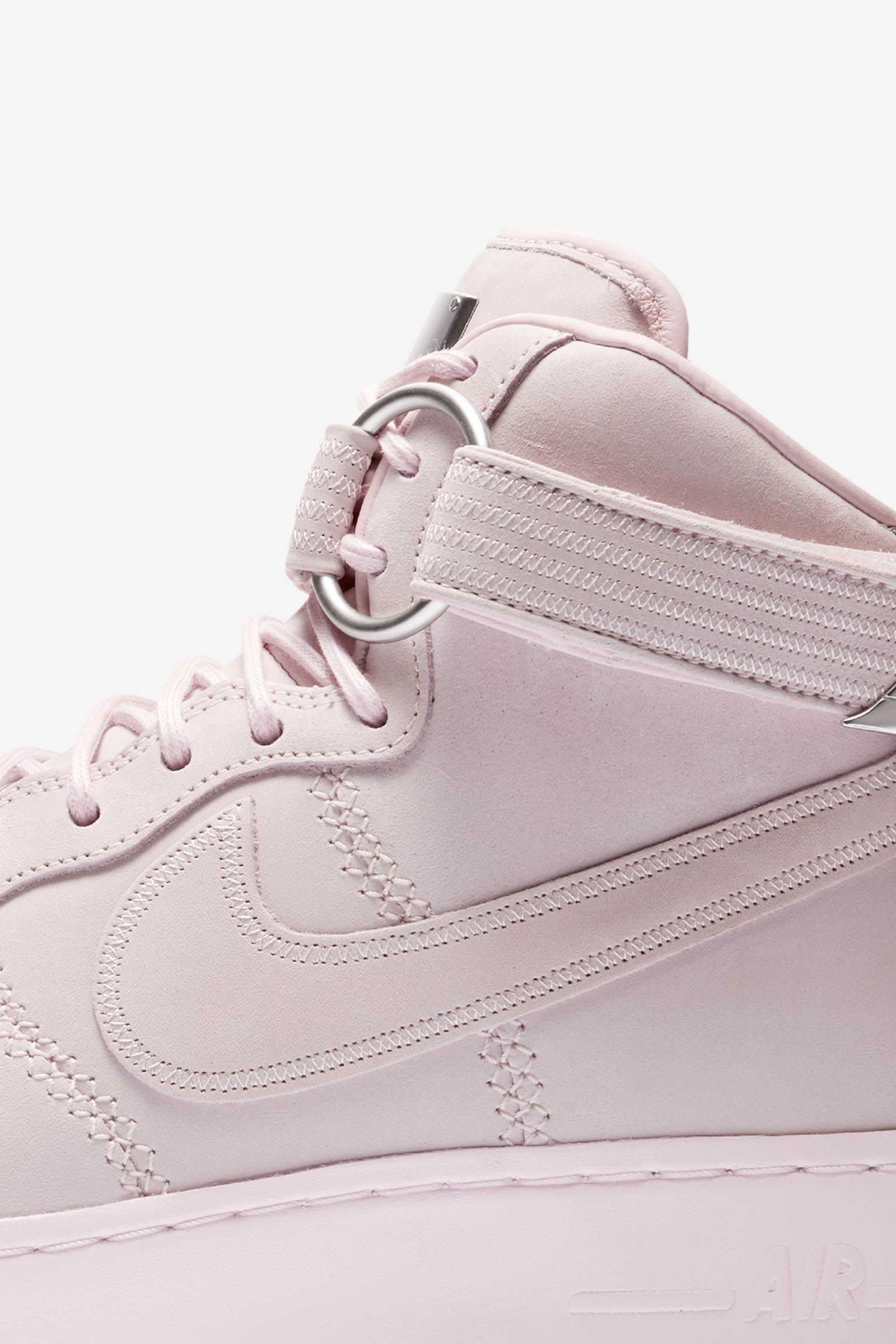 official photos c4936 a53bd ... uk nike air force 1 high sport lux pearl pink release 5f59b 15cd0