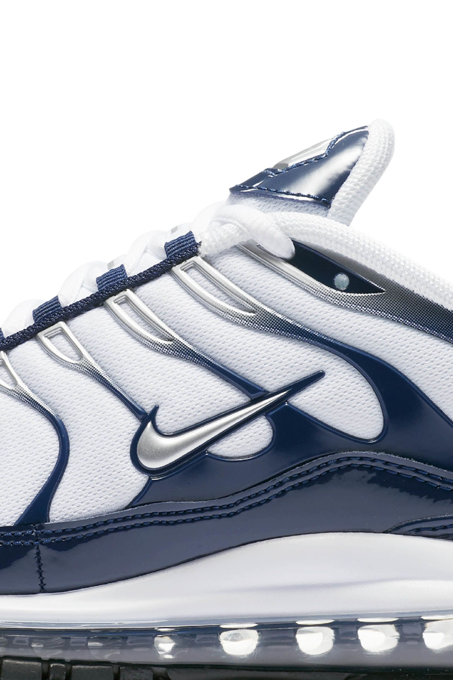 Nike Air Max 97 / Plus 'Metallic Silver & Midnight Navy' Release Date