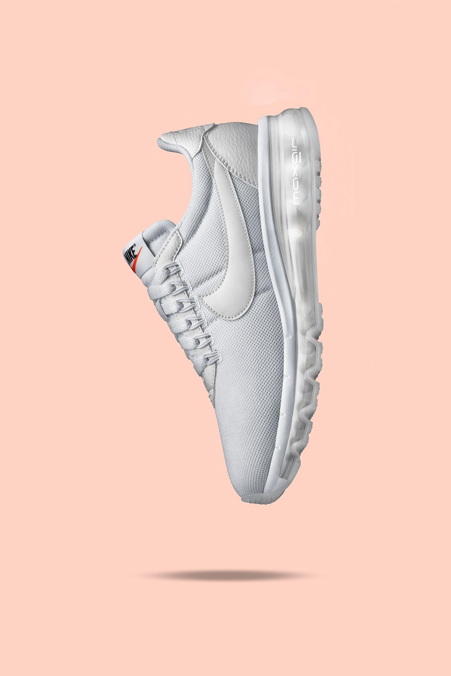 80d7002128 Women's Nike Air Max LD-ZERO 'Triple White'. Nike+ SNKRS
