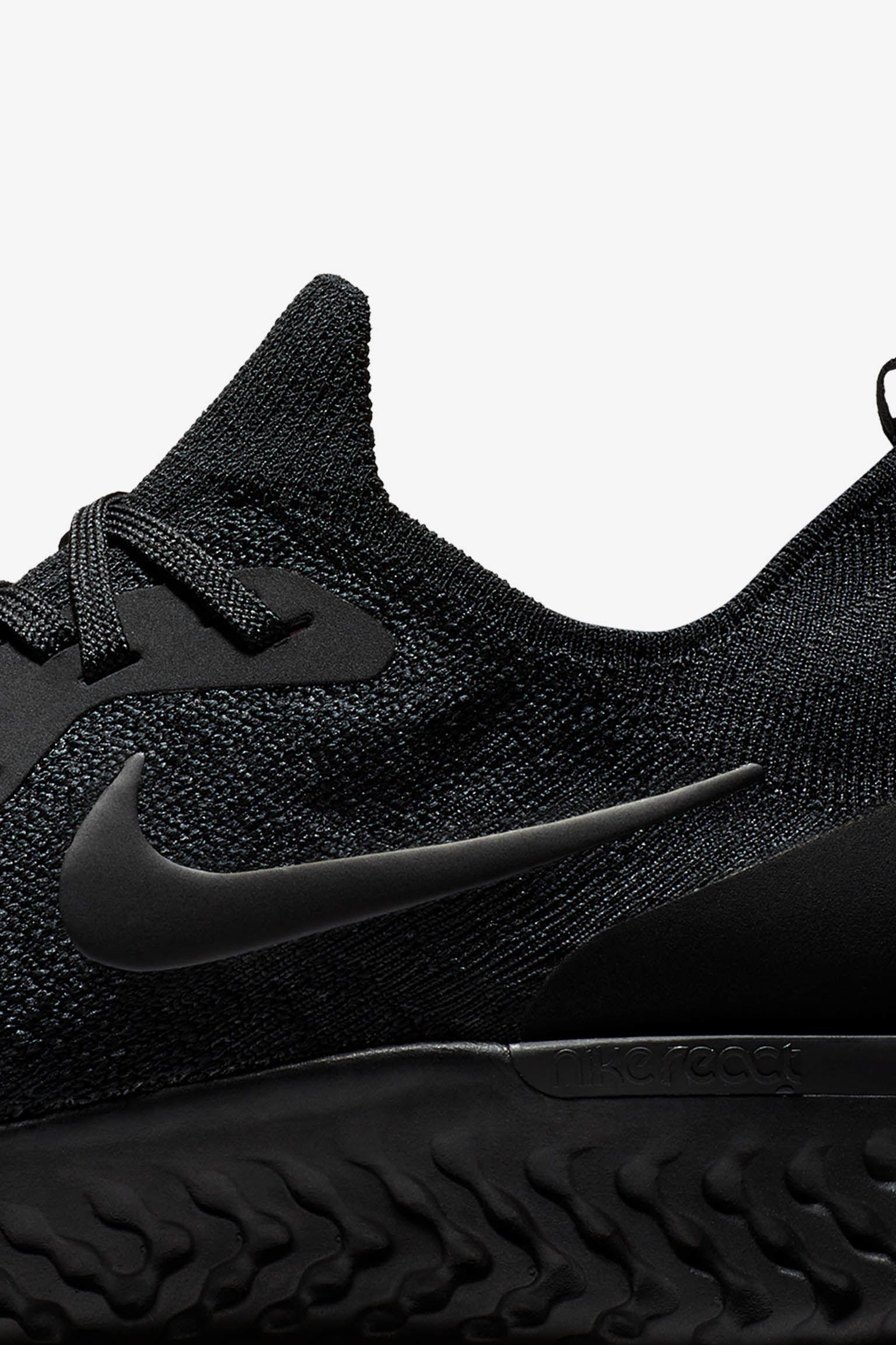 Nike Epic React Flyknit Betrue 'Black & Multicolor' Release Date