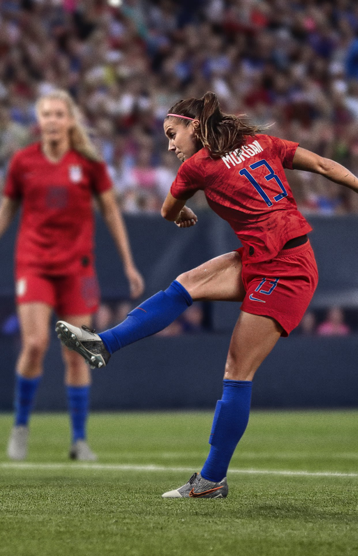 In Alex Morgan's Own Words