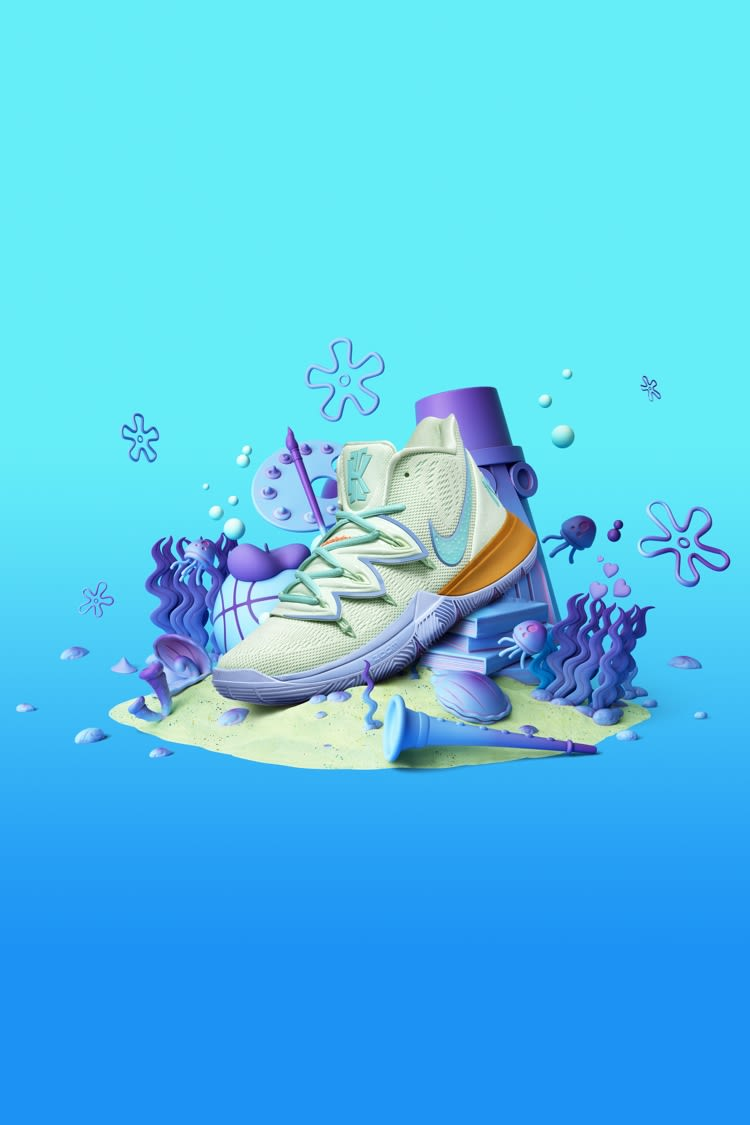 Kyrie 5 'Squidward Tentacles' Release Date  Nike+ Launch MY