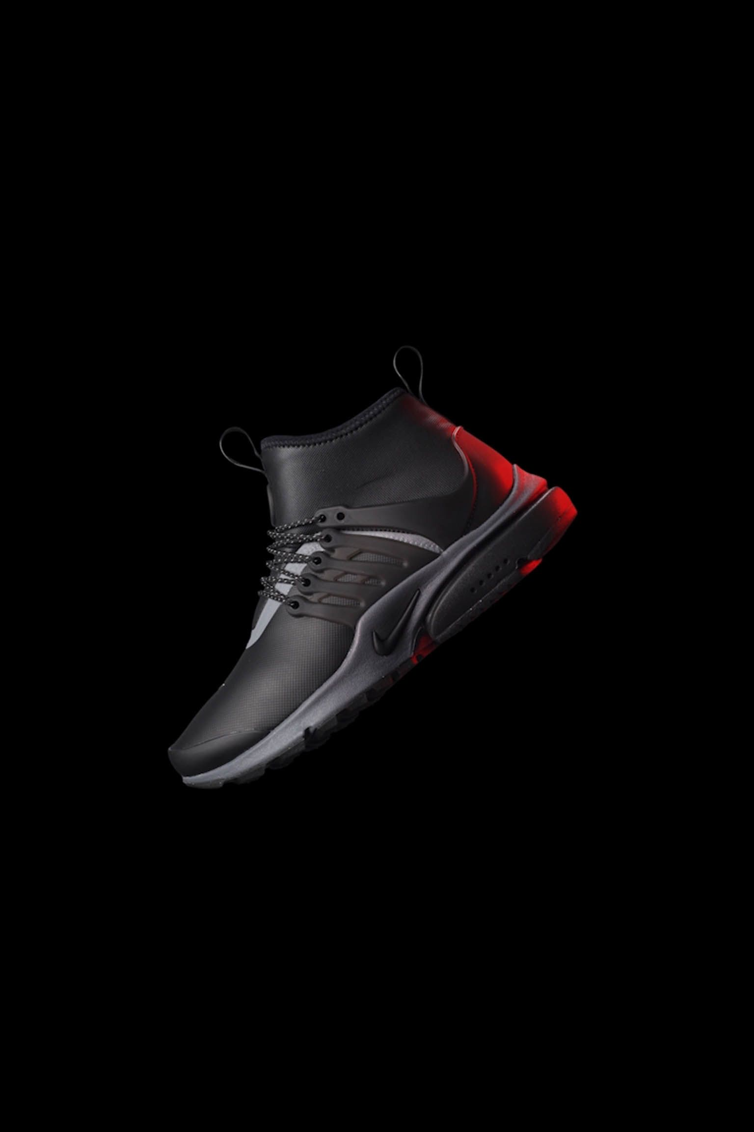 "e1e8c7f074dd Buty damskie Nike Air Presto Mid Utility Sneakerboot ""Black  amp  Reflect  Silver"". Data premiery. Nike+ Launch PL"