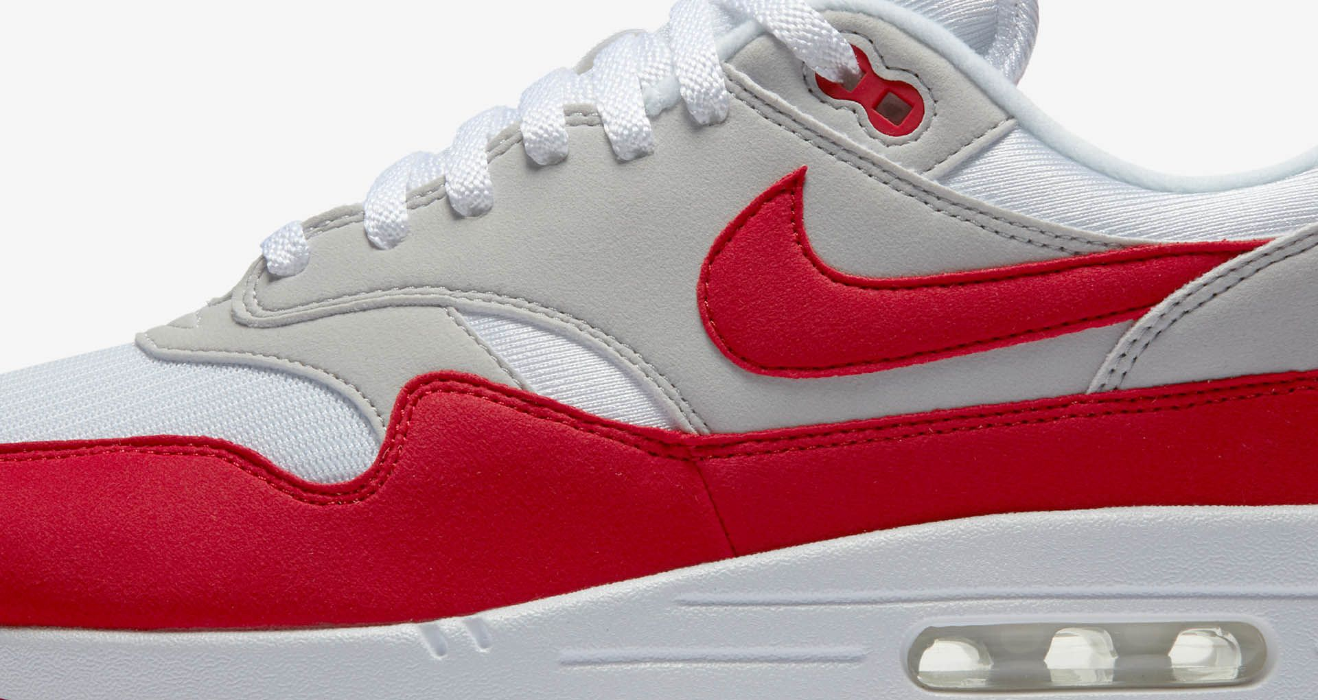 Air Whiteamp; 1 Anniversary Red »Nike Max University Nike « F1lcTKJ