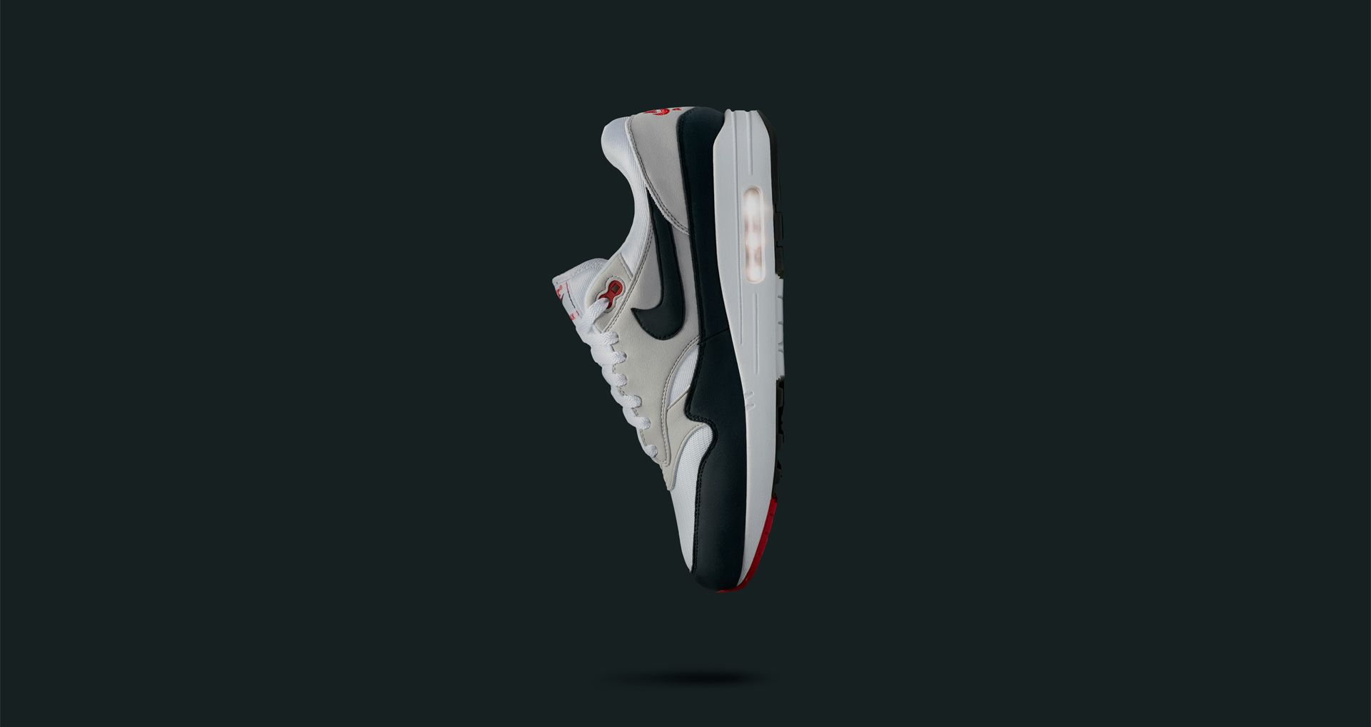 Nike Dark Air Max 'whiteamp; Date Release Anniversary 1 Obsidian' MSpzVGqU