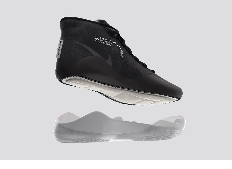 Nike Zoom KD 12 'BlackCement Grey University Red' Release