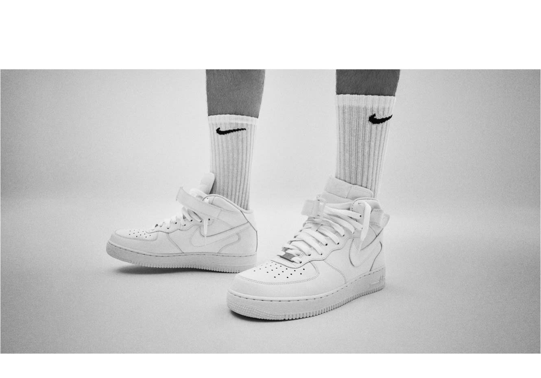 Nike Air Force 1 Mid cammello