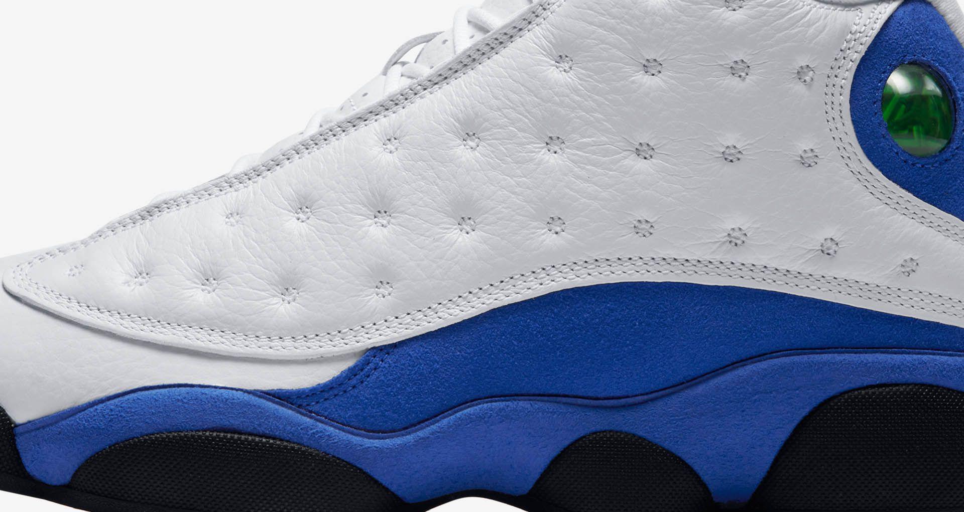 new product 984f3 0b0ed Air Jordan 13 'White & Hyper Royal' Release Date. Nike+ SNKRS