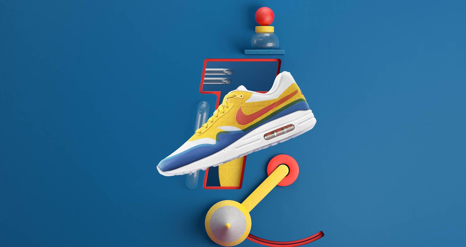Nike Air Max 1 T iD 'Tinker Hatfield'. NikePlus SNKRS