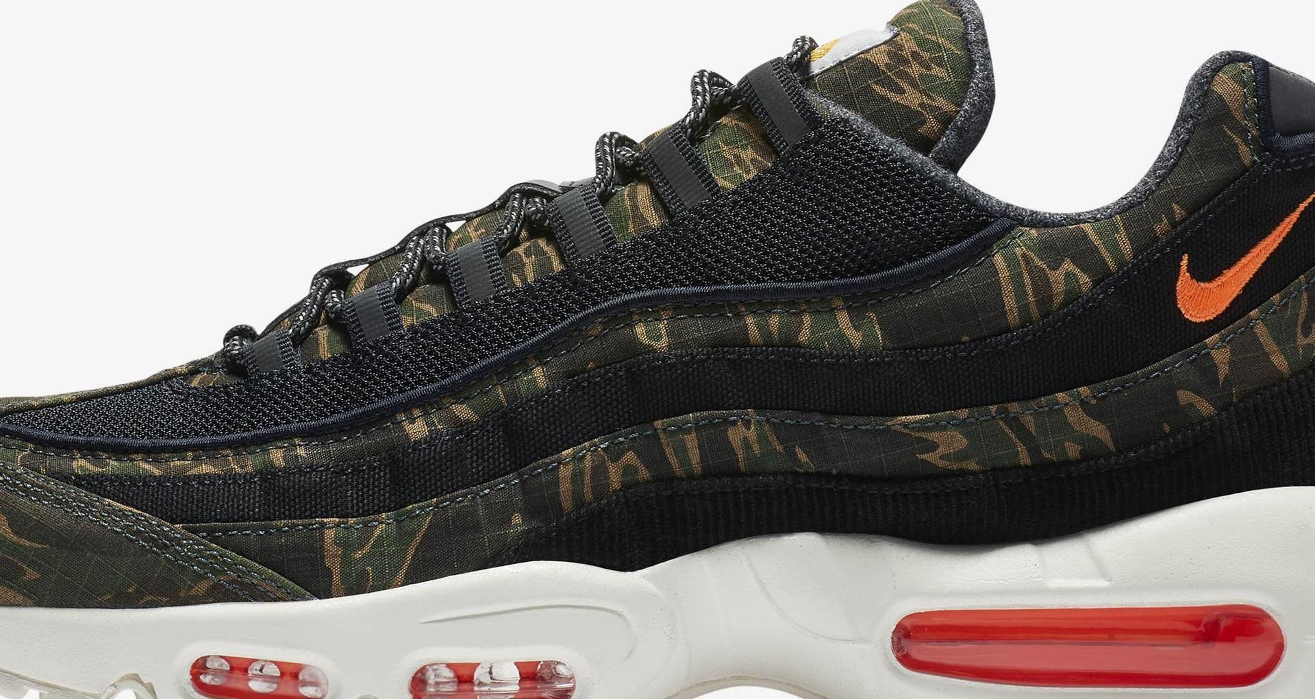 coupon code low price sale watch Nike Air Max 95 Carhartt WIP 'Black Sail & Total Orange ...