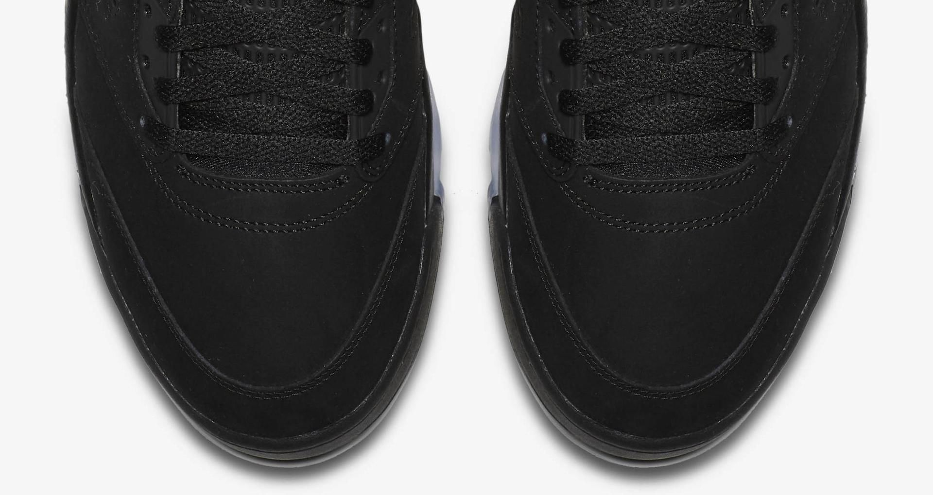 new product c0b18 da2f4 Air Jordan 5 PSG ' Black & Challenge Red' Release Date ...