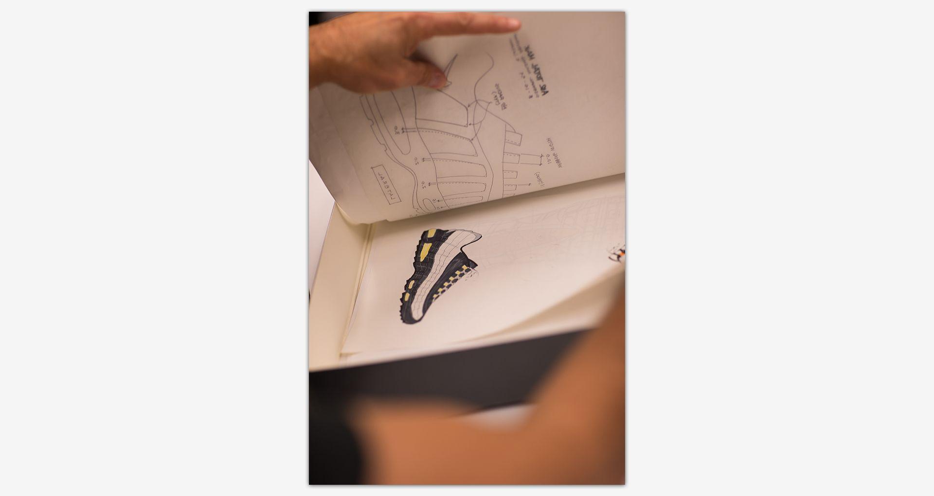 Hinter den Kulissen: Der Nike Air Max 95. Nike SNEAKRS DE