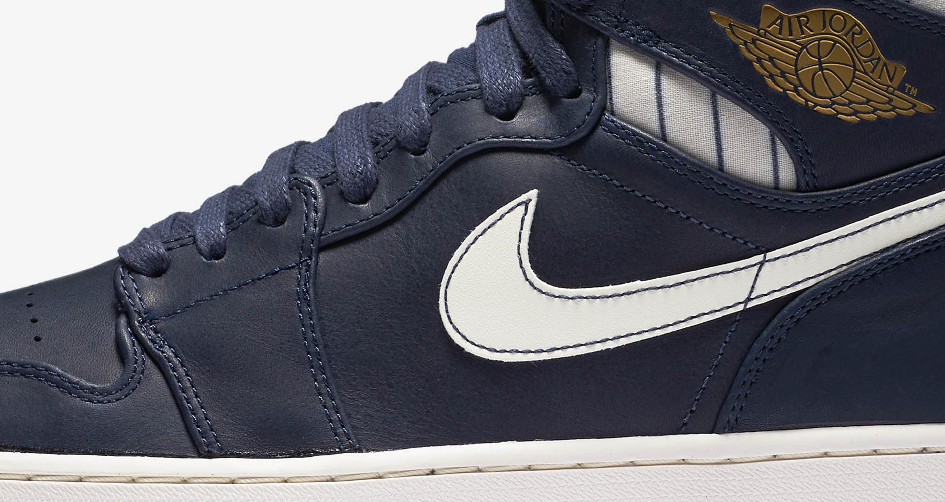 cheap for discount 2e732 fe5cf Air Jordan 1 Retro 'Jeter'. Nike+ SNKRS