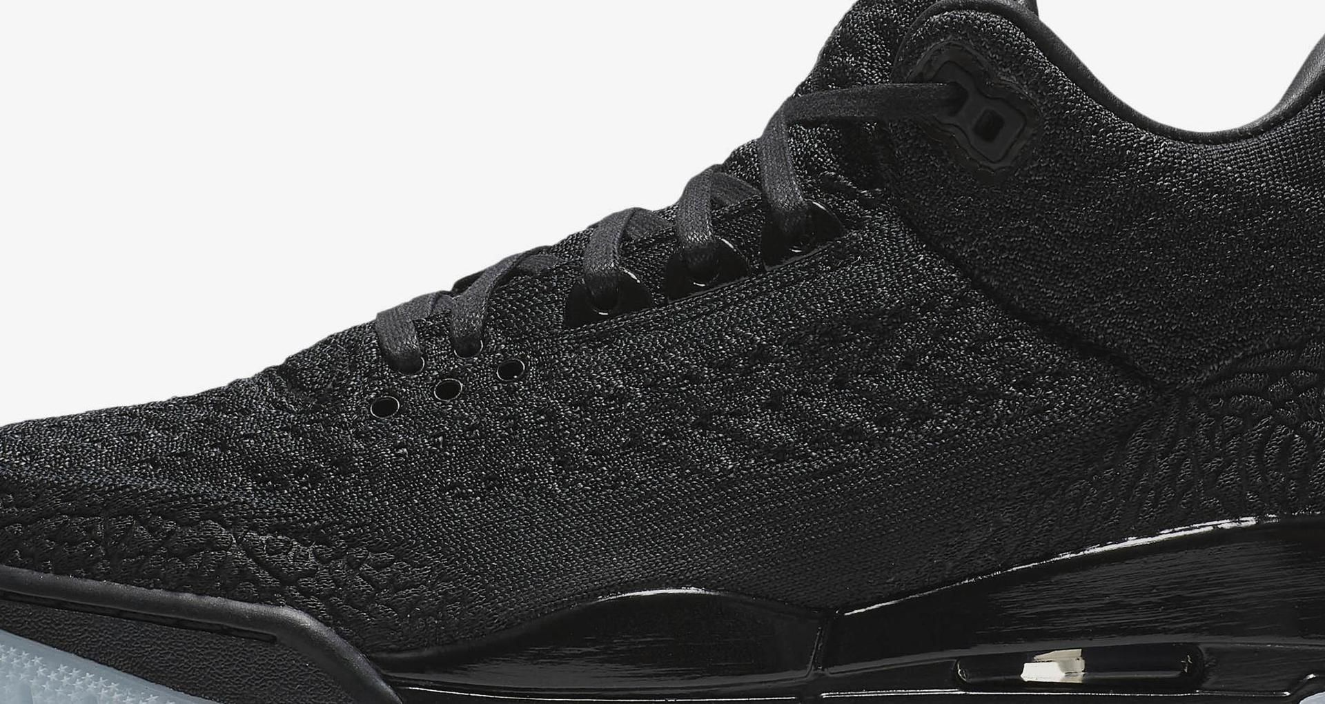 cheap for discount 57883 94bbf Air Jordan 3 Flyknit 'Black & Anthracite' Release Date ...