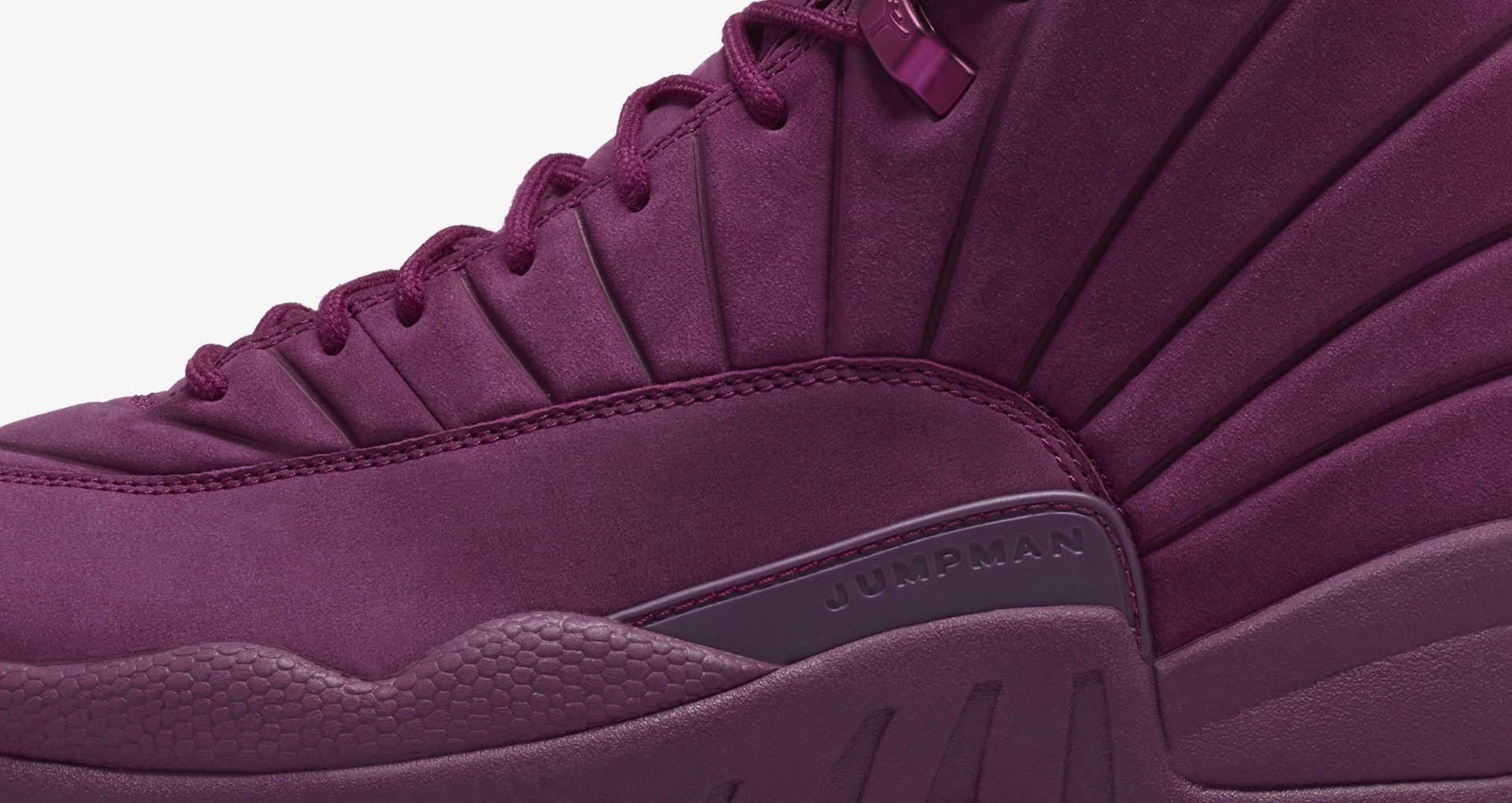 2216bc5de25a Air Jordan 12 Retro PSNY  Bordeaux  Release Date. Nike+ Launch GB