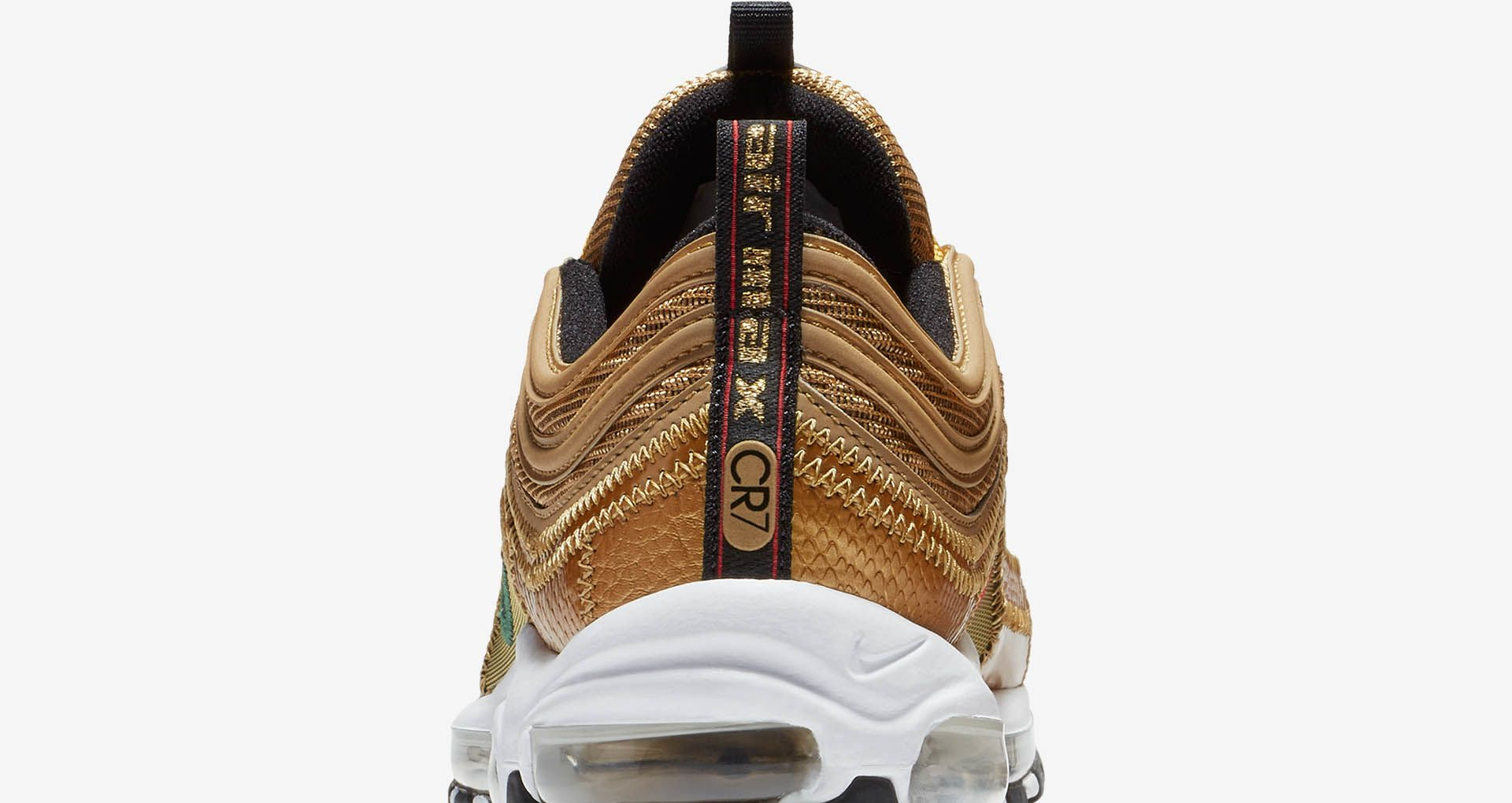 ea58a90bebddd2 Nike Air Max 97 CR7  Golden Patchwork  Release Date. Nike⁠+ Launch GB