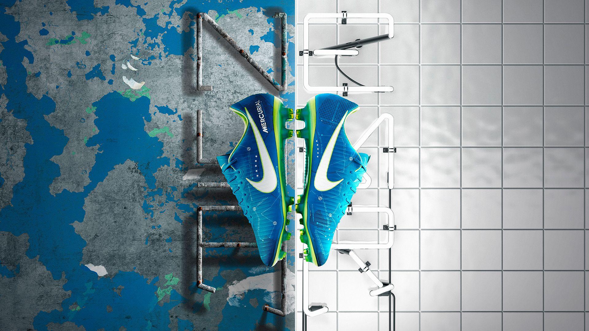 Neymar 2014 Brazil Nike Risk Everything Wallpaper
