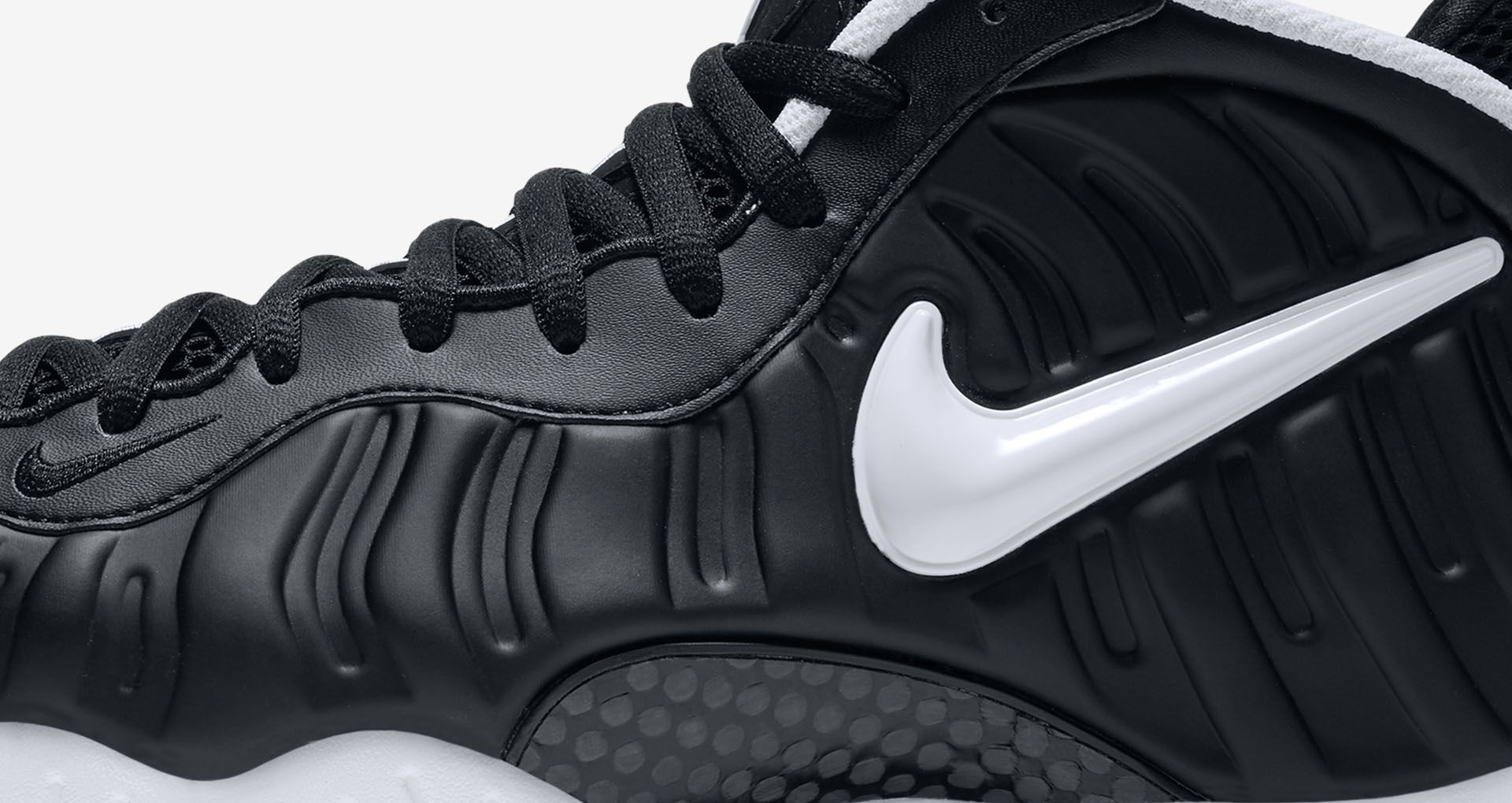 42d423b875b Nike Air Foamposite Pro  Black   White  2016. Nike+ SNKRS