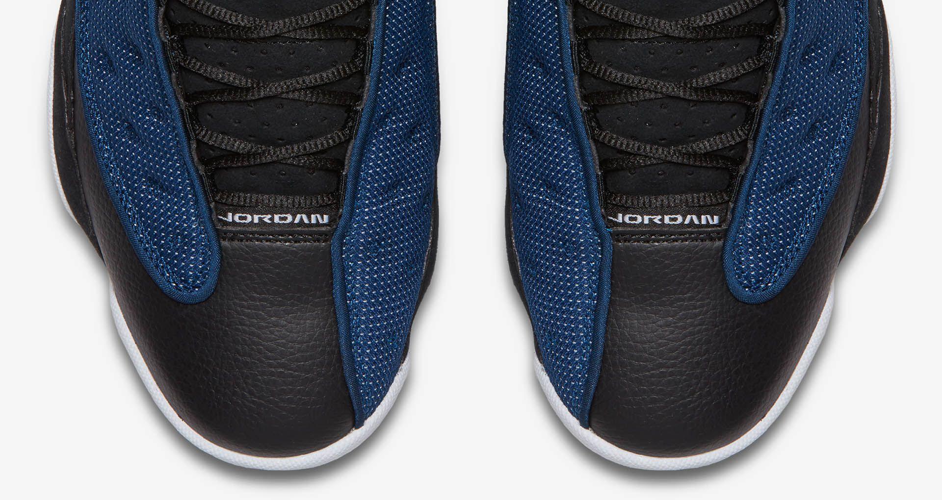 detailed look 59e6e e5793 Air Jordan 13 Retro Low 'Black & Brave Blue'. Nike+ SNKRS