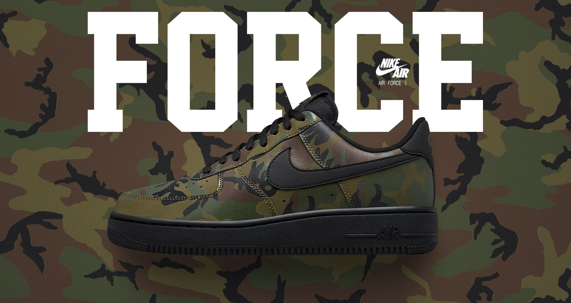 db39cc1f1851 Nike Air Force 1 Low 07  Medium Olive Camo Reflective  Release Date ...