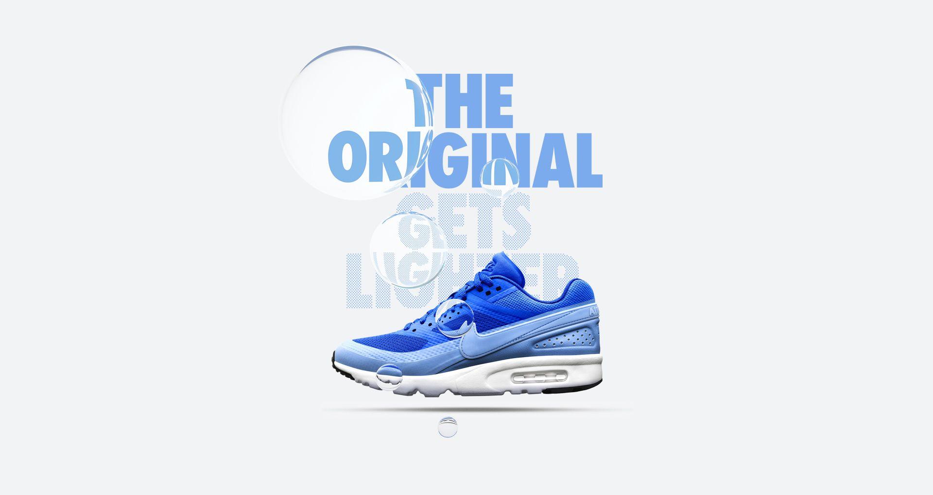 Women's Nike Air Max BW Ultra 'Royal Blue & White' Release
